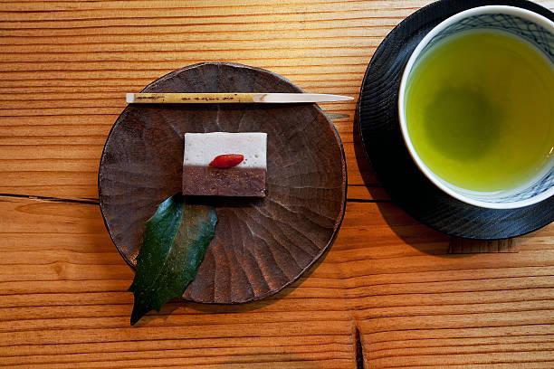 Japanese Tea and Wagashi, desert:スマホ壁紙(壁紙.com)