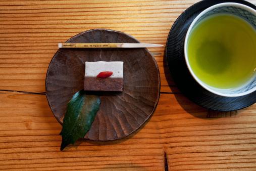 Wagashi「Japanese Tea and Wagashi, desert」:スマホ壁紙(0)