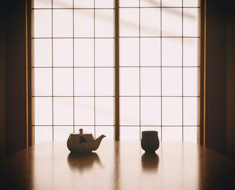 Ceremony「Japanese Tea Silhouette」:スマホ壁紙(5)