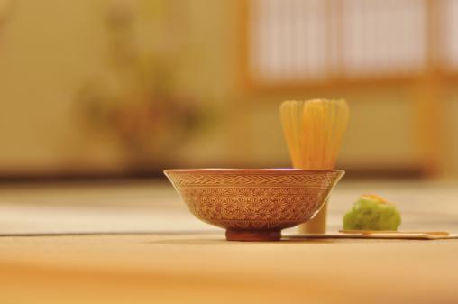 焦点「Japanese tea ceremony image,close up」:スマホ壁紙(14)