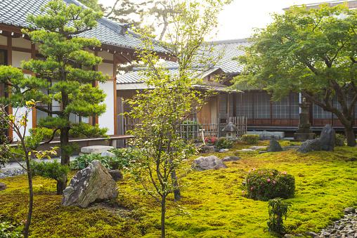 寺「Japanese temple garden」:スマホ壁紙(11)