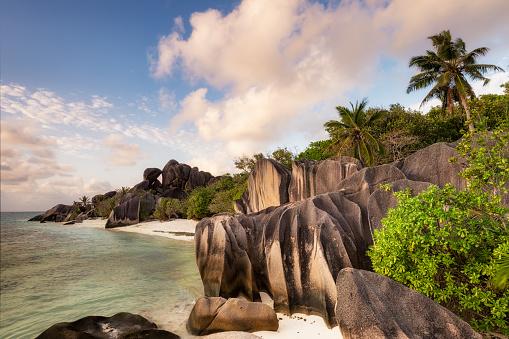 Perfection「Anse Source d'Argent beach, La Digue, Seychelles」:スマホ壁紙(14)
