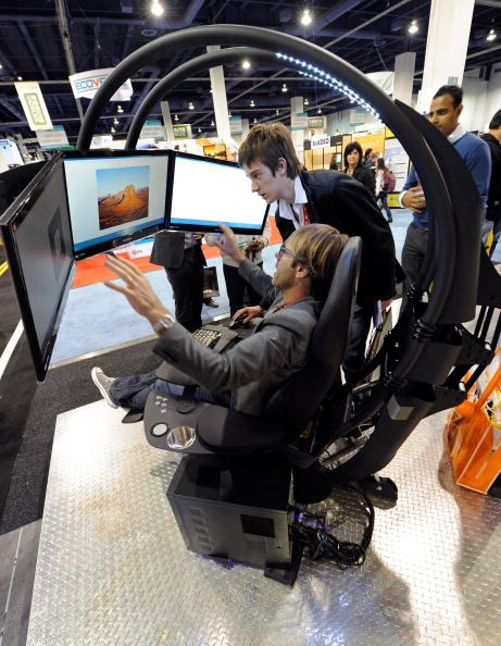 Ergonomics「2012 Consumer Electronics Show Showcases Latest Technology Innovations」:写真・画像(13)[壁紙.com]