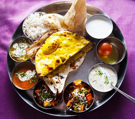 Rajasthan「Thali meal- Indian food」:スマホ壁紙(4)