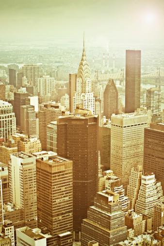 Midtown Manhattan「Golden city」:スマホ壁紙(17)