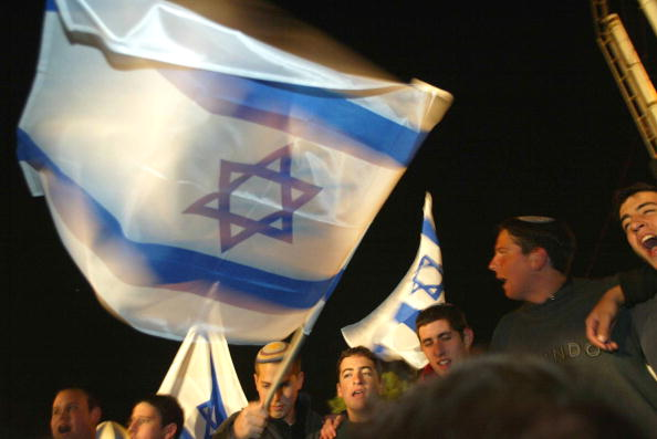 Wave「Right-WIng Israelis Demonstrate Against PM Sharon Policies」:写真・画像(4)[壁紙.com]
