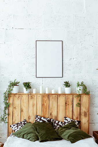 Sweater「Home still life. Modern and cozy home decor. Cozy home decor and office setups.」:スマホ壁紙(0)