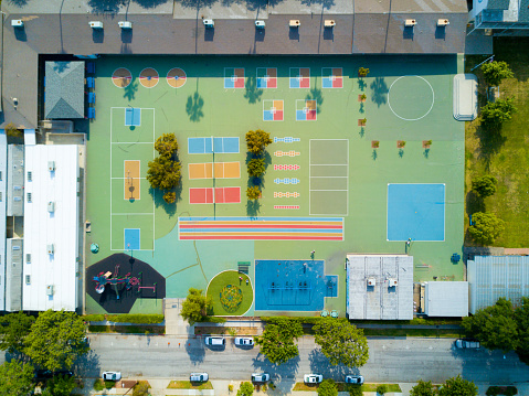 Leisure Games「Aerial of Playground」:スマホ壁紙(2)
