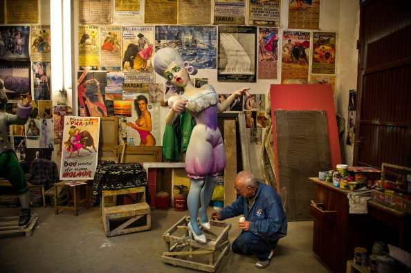 お祭り「Las Fallas Festival Preparations In Valencia」:写真・画像(19)[壁紙.com]