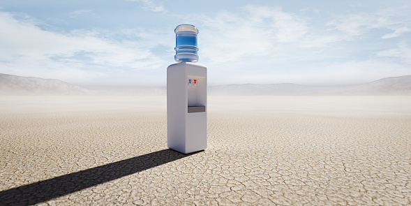 Remote Location「Water cooler in remote desert」:スマホ壁紙(9)