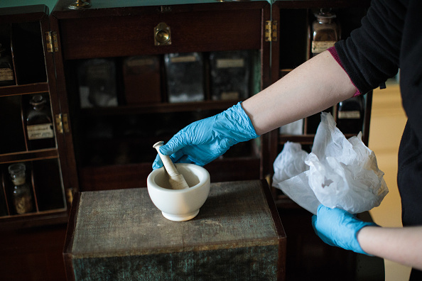 Mortar and Pestle「Kew Palace Prepares For Spring Opening」:写真・画像(14)[壁紙.com]