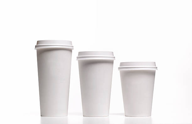 Family of disposable coffee/tea cups:スマホ壁紙(壁紙.com)