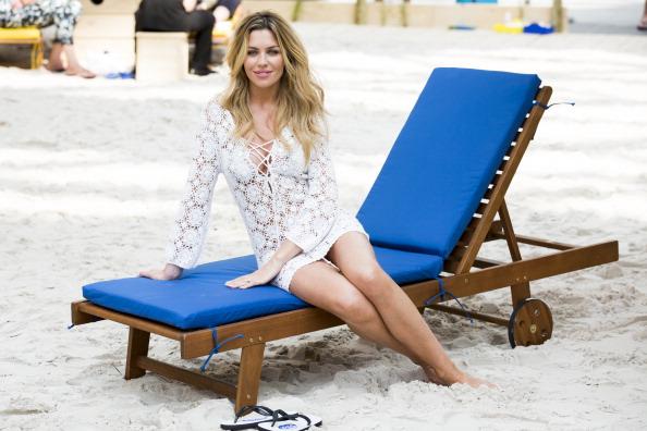 Tristan Fewings「Abbey Clancy Launches The Scholl Pop Up Pedicure Beach」:写真・画像(13)[壁紙.com]