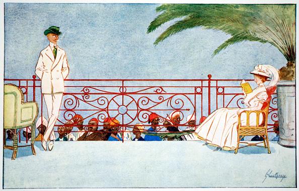 リラクゼーション「Romeo And Juliet - Balcony Scene At Shepheard's Hotel Cairo' 1908」:写真・画像(7)[壁紙.com]