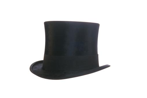 シルクハット「Top hat」:スマホ壁紙(6)