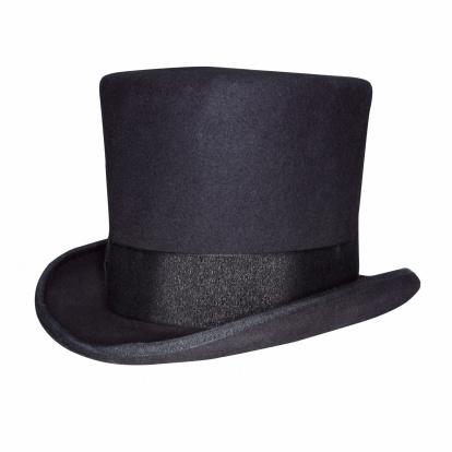 シルクハット「Top hat」:スマホ壁紙(7)