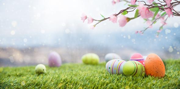 Easter Egg「Magic Easter Landscape」:スマホ壁紙(6)