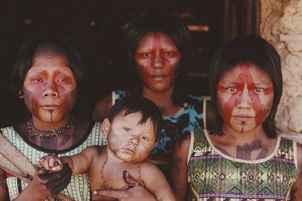 Indigenous Culture「Kayapo People」:写真・画像(11)[壁紙.com]