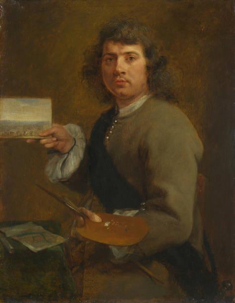 Sight (Portrait Of Robert Van Den Hoecke (1622-1688). From The Series The Five Senses:ニュース(壁紙.com)