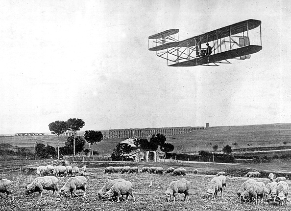 1900-1909「Wilbur Wright flies over Rome」:写真・画像(13)[壁紙.com]