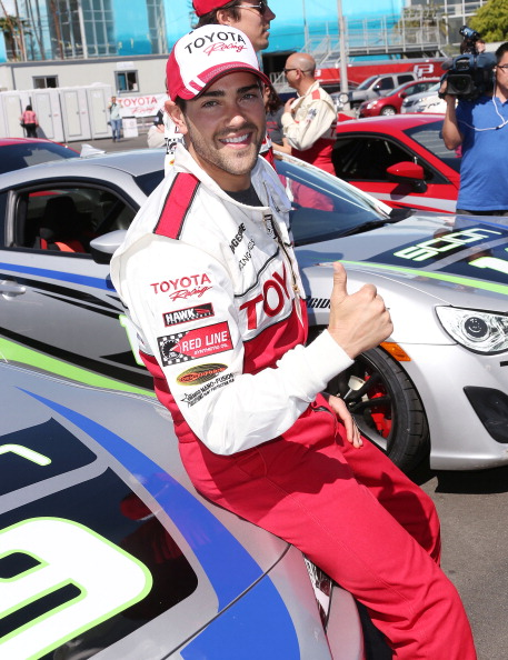 Jesse Grant「37th Annual Toyota Pro/Celebrity Race - Practice Day」:写真・画像(1)[壁紙.com]