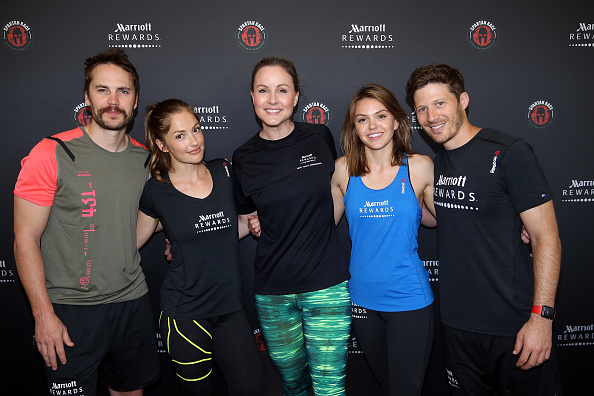 "Aimee Teegarden「Marriott Rewards Reunites Cast Members of ""Friday Night Lights"" for Spartan Race」:写真・画像(5)[壁紙.com]"