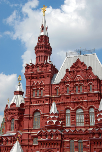 Double-headed Eagle「Building of Historical Museum on Red Square in Moscow」:スマホ壁紙(10)