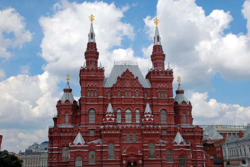 Double-headed Eagle「Building of Historical Museum on Red Square in Moscow」:スマホ壁紙(11)