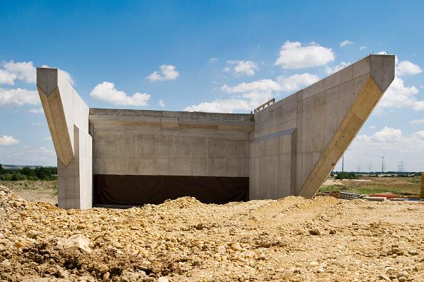 Incomplete「Building of A5 motorway near Wolkersdorf, Austria」:写真・画像(4)[壁紙.com]