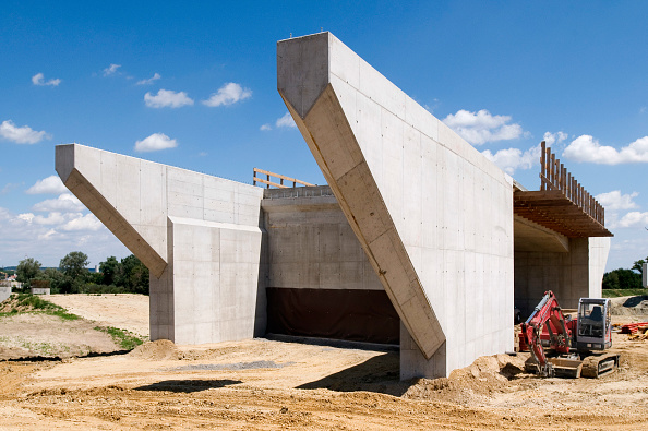 Incomplete「Building of A5 motorway near Wolkersdorf, Austria」:写真・画像(0)[壁紙.com]