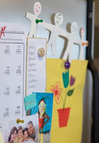 Magnet「Assorted decorations on refrigerator」:スマホ壁紙(6)