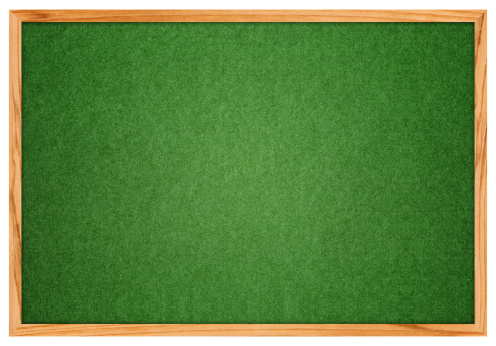 Wooden Post「Blank Green Corkboard textured isolated on White background (Clipping Path!)」:スマホ壁紙(1)