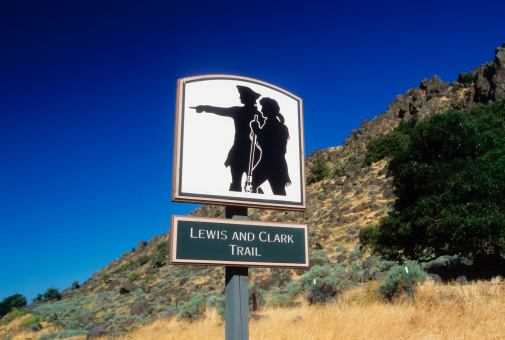 Explorer「Lewis and Clark Trail road sign」:スマホ壁紙(11)