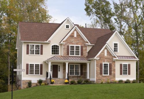 Richmond - Virginia「Facade of New Home」:スマホ壁紙(9)