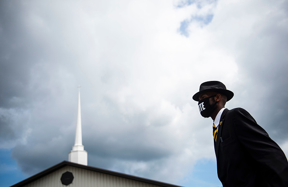 Funeral「Memorial Held For George Floyd Held In His Birthplace Of North Carolina」:写真・画像(6)[壁紙.com]