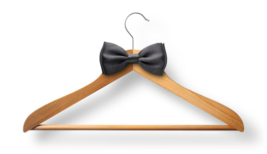 Bow Tie「Elegant attire. Coat hanger with bow tie.」:スマホ壁紙(13)