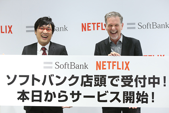 Finance and Economy「Netflix Partners With SoftBank For Japan Launch」:写真・画像(14)[壁紙.com]