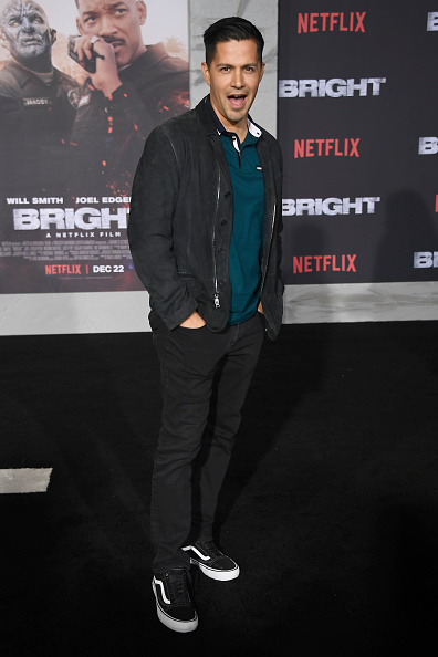 "Polo Shirt「Premiere Of Netflix's ""Bright"" - Arrivals」:写真・画像(8)[壁紙.com]"