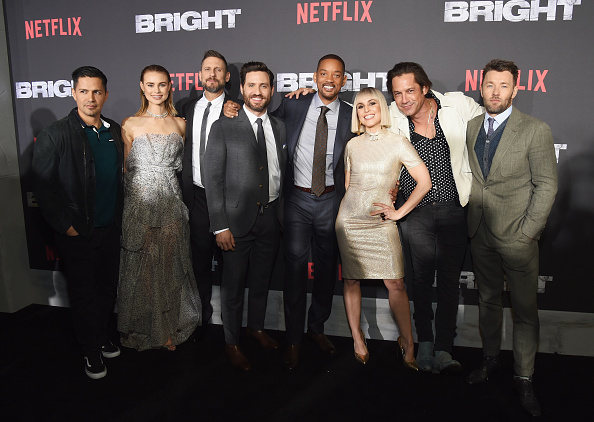 "Bright「LA Premiere of Netflix Films ""BRIGHT""」:写真・画像(2)[壁紙.com]"