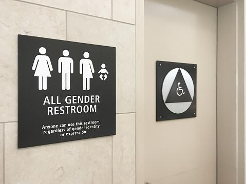 Convenience「Multi gender bathroom signage in airport」:スマホ壁紙(16)