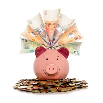 Stuffed「Rich Piggy bank」:スマホ壁紙(3)