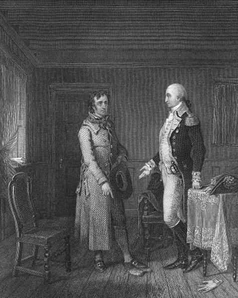 1820-1829「Illustration Of Scene With George Washington From 'The Spy'」:写真・画像(0)[壁紙.com]