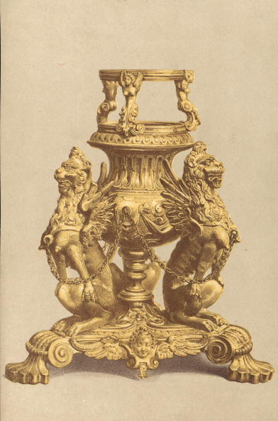 Spencer Arnold Collection「Lamp-Stand In Gilt Bronze」:写真・画像(15)[壁紙.com]