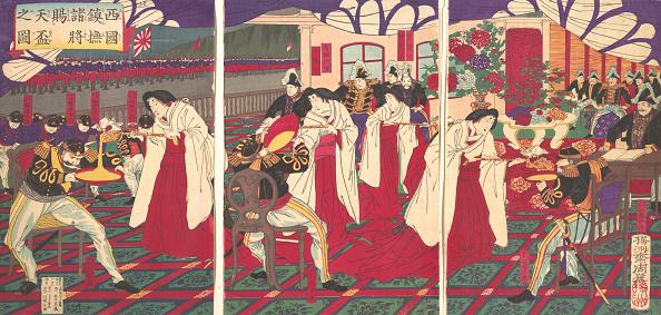 カトラリー「Illustration Of The Commanders Who Pacified Western Japan」:写真・画像(15)[壁紙.com]