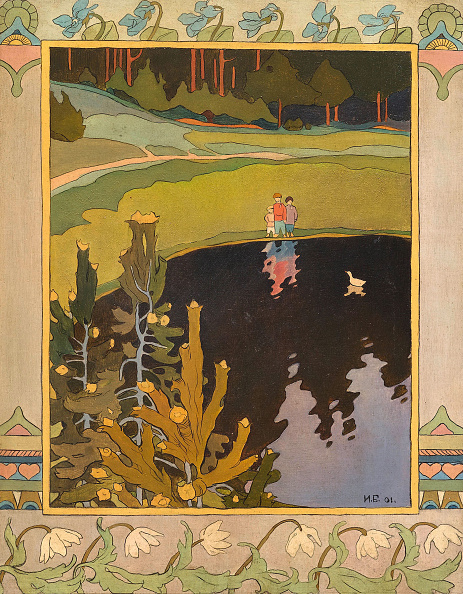 Fairy Tale「Illustration To The Fairytale The White Duck」:写真・画像(19)[壁紙.com]
