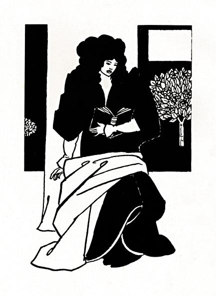 絵「Illustration From Morte Darthur 1893-1894」:写真・画像(9)[壁紙.com]