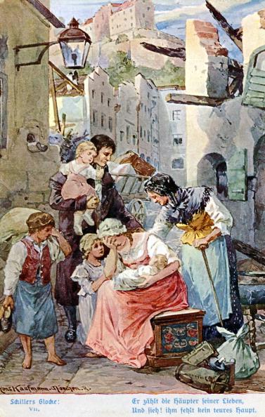 絵「Illustration of Schiller 's 'The Song of the Bell'」:写真・画像(14)[壁紙.com]