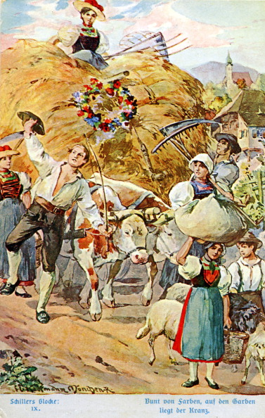 Agricultural Activity「Illustration of Schiller 's 'The Song of the Bell'」:写真・画像(13)[壁紙.com]