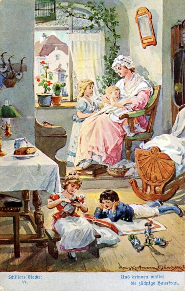絵「Illustration of Schiller 's 'The Song of the Bell'」:写真・画像(8)[壁紙.com]
