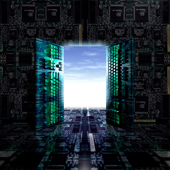 Door「Illustration Computer Keybords, Digital Future.」:写真・画像(12)[壁紙.com]